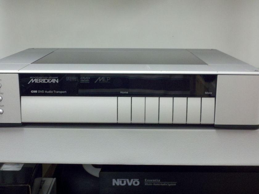 Meridian G98 G98DH DVD AUDIO TRANSPORT