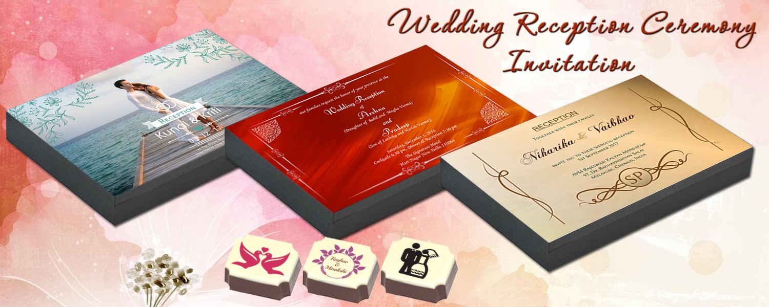 Reception Invitation – CHOCOCRAFT