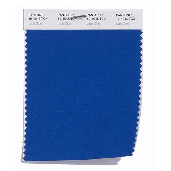 Pantone Color Swatch Lapis Blue