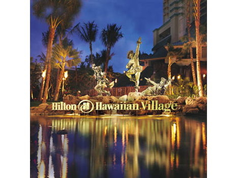 Hilton Hawaiian Village (2) Night Stay in an Ocean View Room and dinner for (2) at Bali Steak & Seafood Restaurant