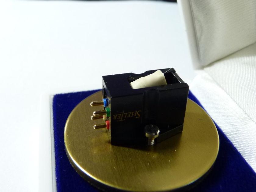 Shelter 501 mkII phono cartridge MC medium output moving coils