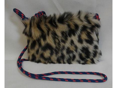 J. Crew Leopard Fur Pouch