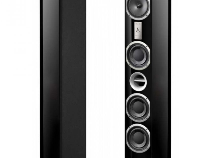 Triangle Signature Alpha Standfloor Speakers Black Glossy