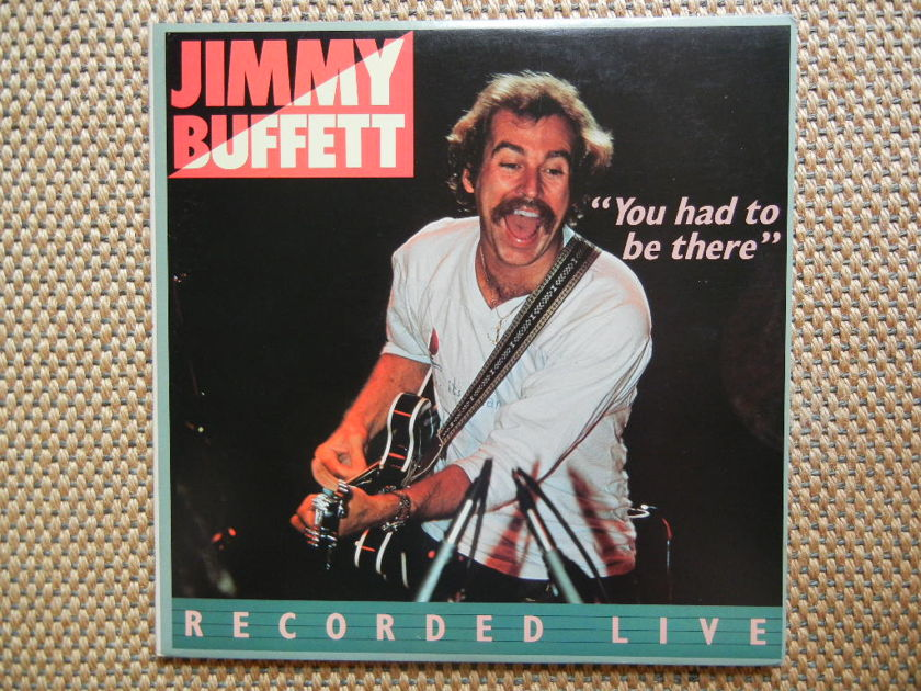 JIMMY BUFFETT/ - YOU HAD TO BE THERE (Recorded Live)/ ABC Records (2LP's) AK 10008 Stereo