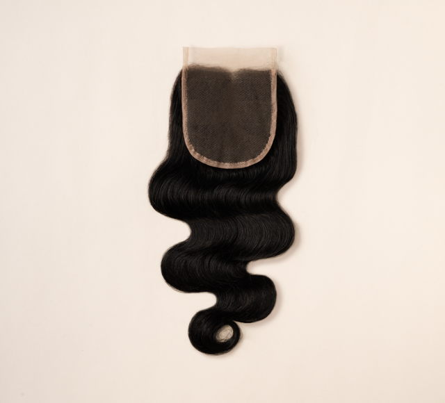 Body Wave #1 Jet Black Closures Mayvenn