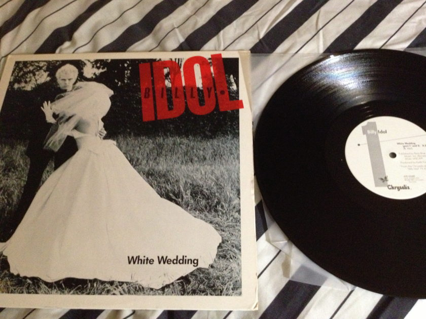 Billy Idol - 12 Inch Single White Wedding Chrysalis Label