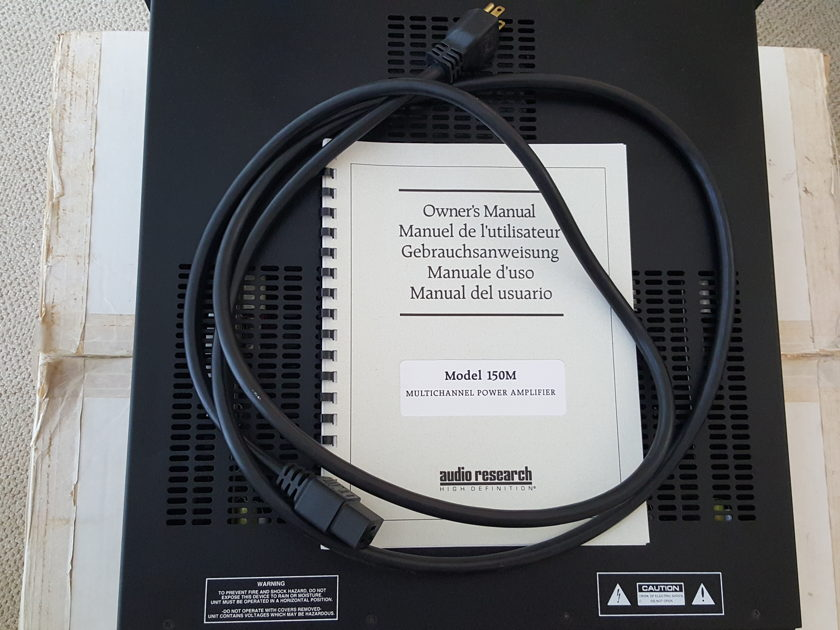 Audio Research 150m x5 Multi-channel Amp