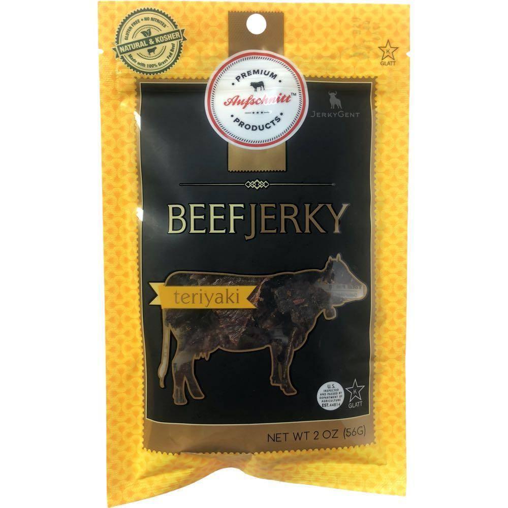 Aufschnitt Meat Beef Jerky JerkyGent Teriyaki