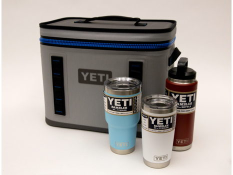 Yeti Cooler and Rambler package