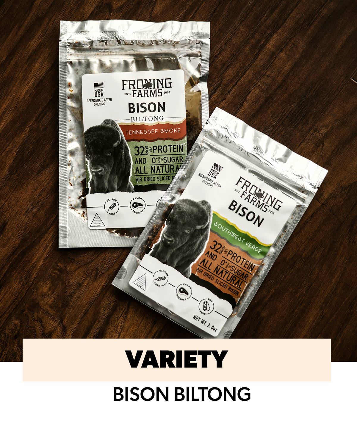 froning farms bitong variety pack