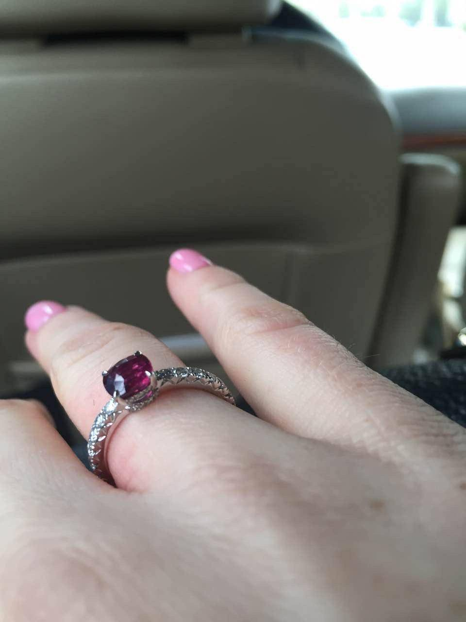 Anna`s burmese ruby ring