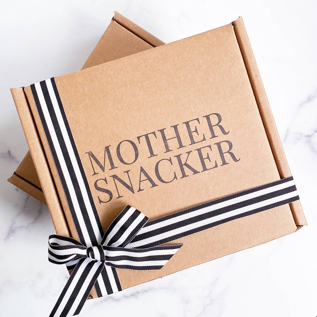 Mother Snacker Classic Box featuring Tired As A Mother Zipper Pouch