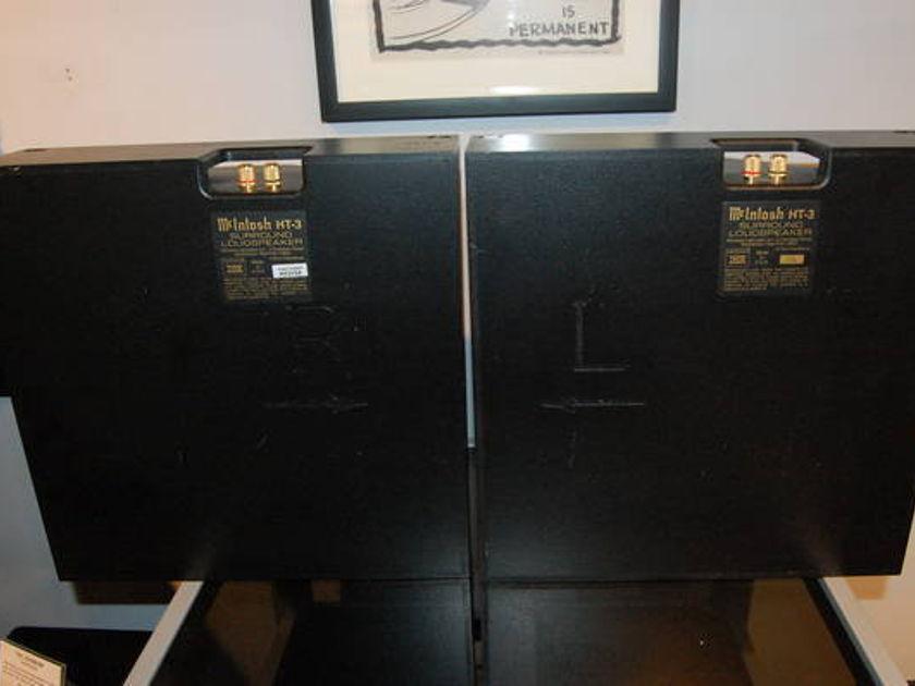 McIntosh  HT-3 in-wall Dipole Speakers Black