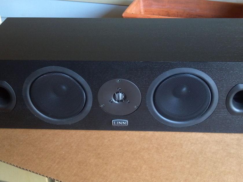 Linn Center Channel Speaker 5120 in Black Ash