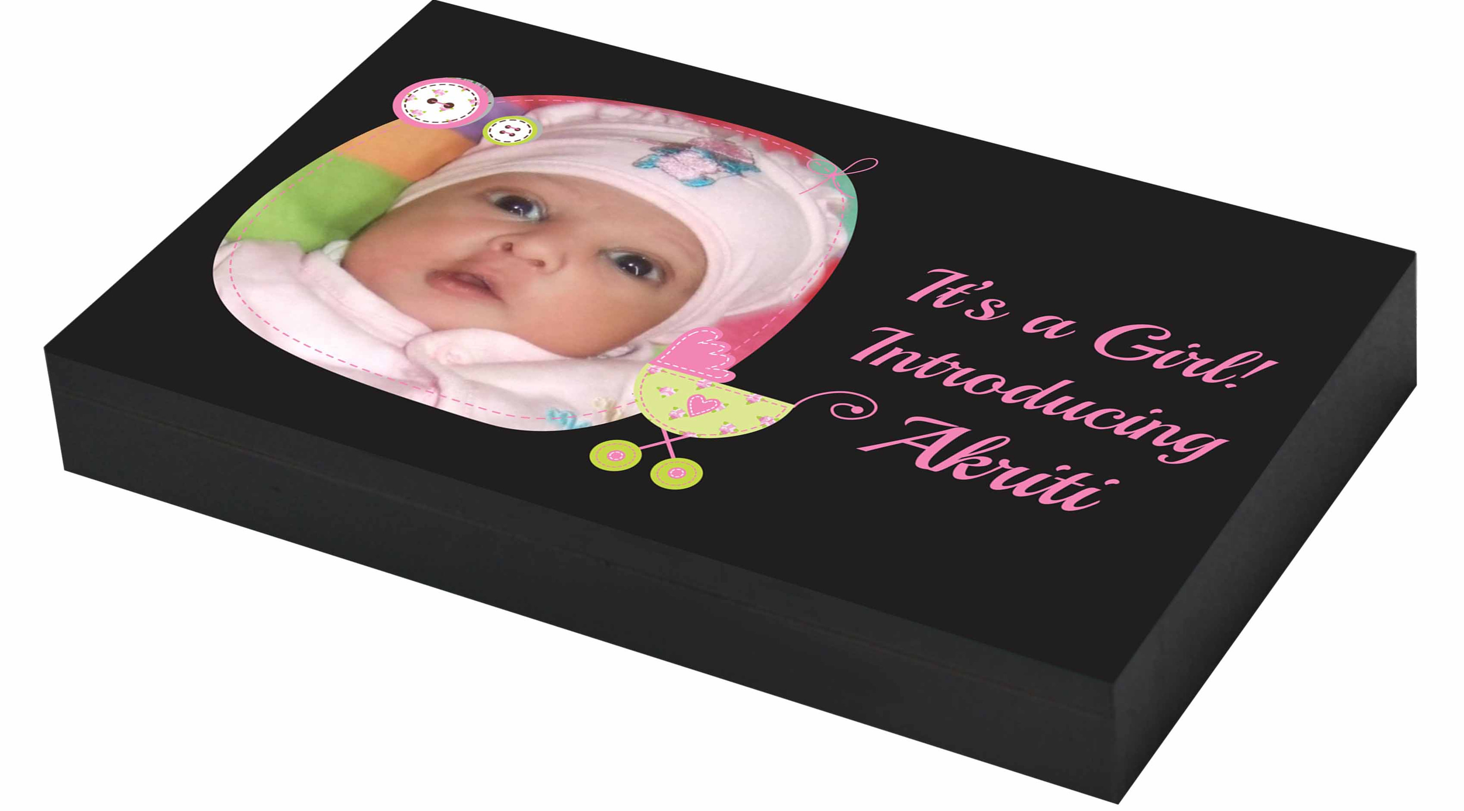Baby girl birth gifts personalised