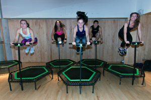 Jumping Fitness Class