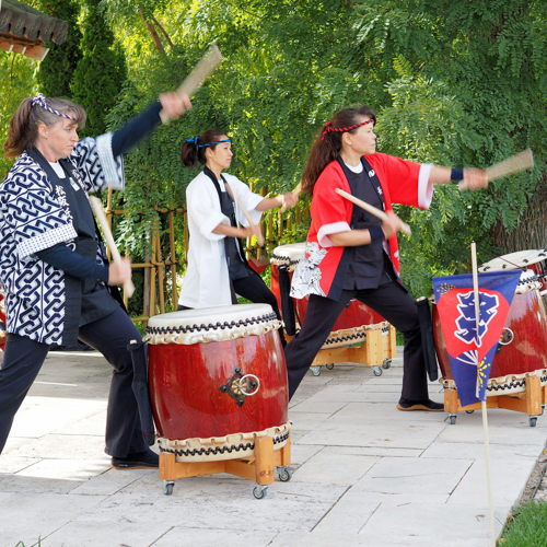 Picture of For an entire weekend, the garden grounds are alive with merriment as guests celebrate the joys of autumn and experience the Japanese culture first-hand.