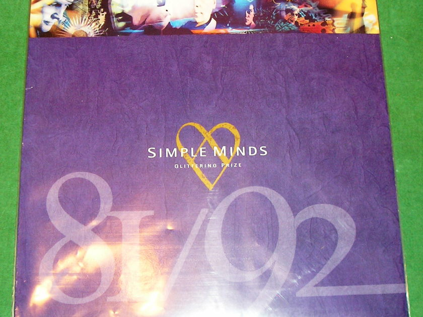"""SIMPLE MINDS  """"GLITTERING PRIZE"""" - 1992 VIRGIN RECORDS *** UK IMPORT - NM 9/10***"""