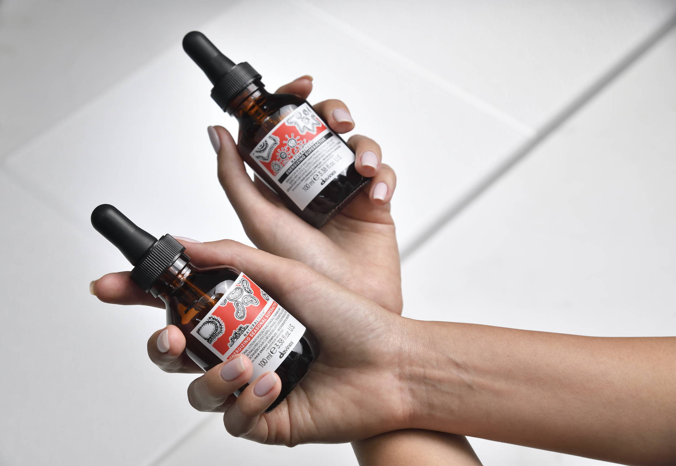 Davines Naturaltech Energizing hair loss products