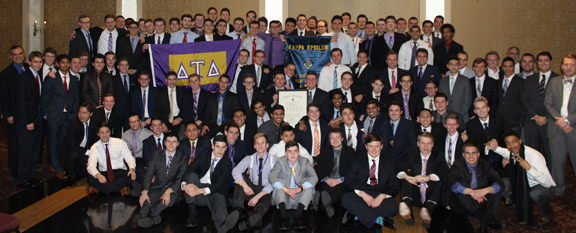 Kappa Epsilon Chapter Installed at The College of New Jersey