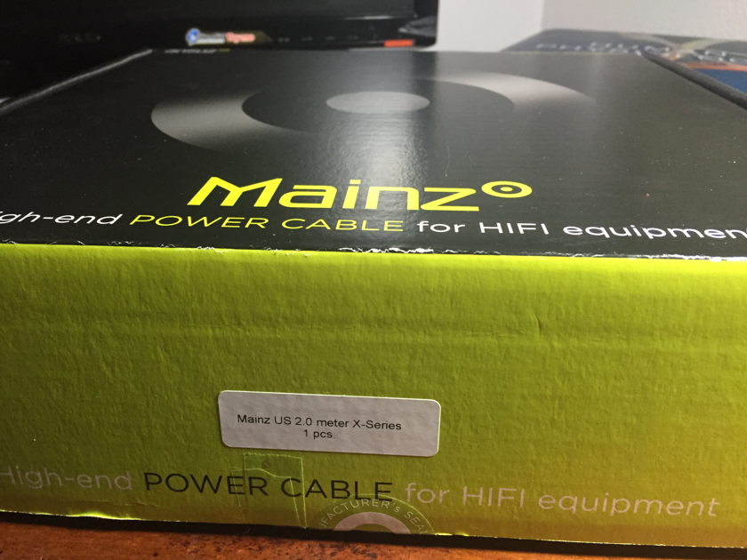 Ansuz Acoustics Mainz X-Series Power Cable, 2.0 Meters