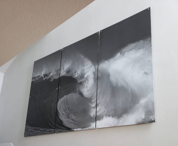 Art & Posters - 3 Part Wave Canvas Print