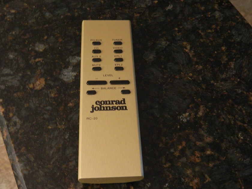 Conrad Johnson tube preamp ET-5 what you heard is all true its that good