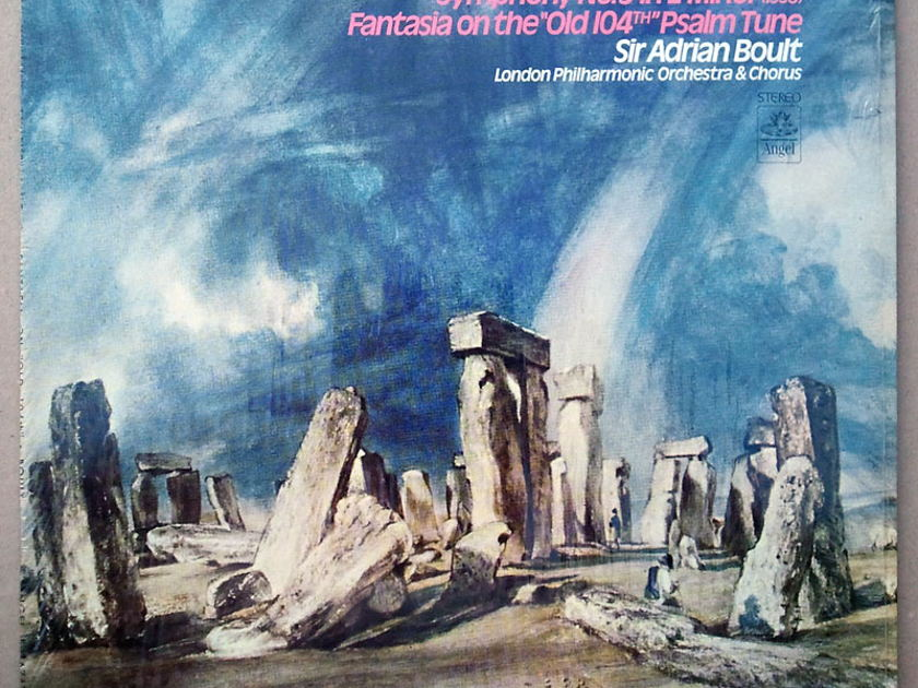 ANGEL   BOULT/VAUGHAN WILLIAMS - Symphony No.9, Fantasia / EX