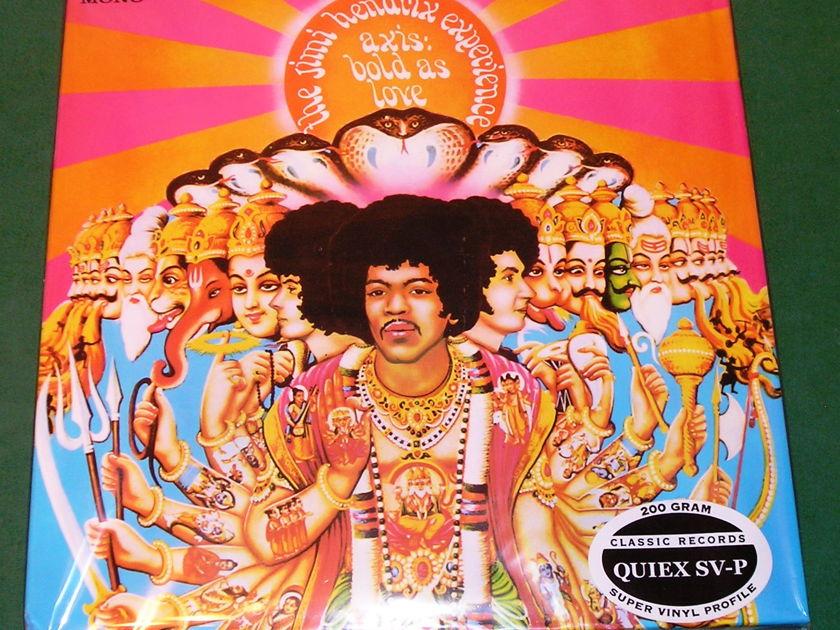 JIMI HENDRIX - AXIS: BOLD AS LOVE - *  CLASSIC RECORDS 200 GRAM PRESS * NM 9/10