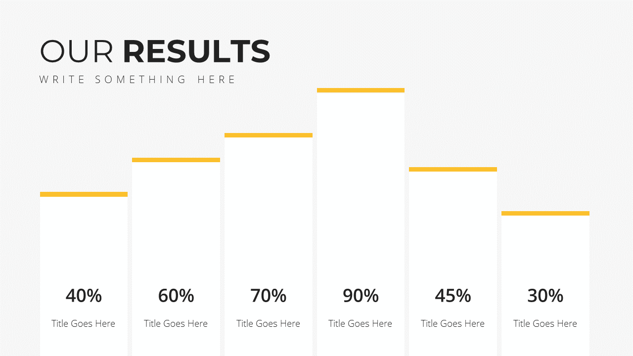 Minimal X Consulting Firm Proposal Presentation Template Results