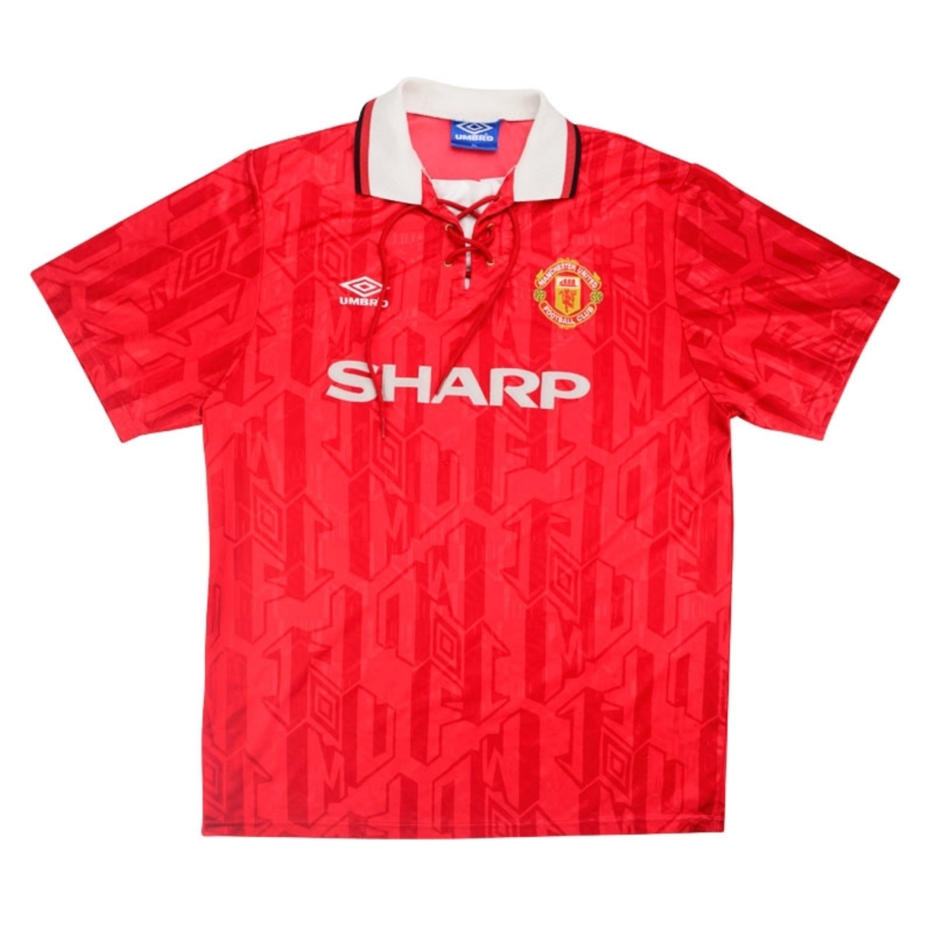 92-94 Manchester United home shirt