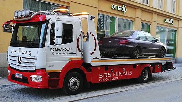 Hinauspalvelu Maanoja Oy, Tampere