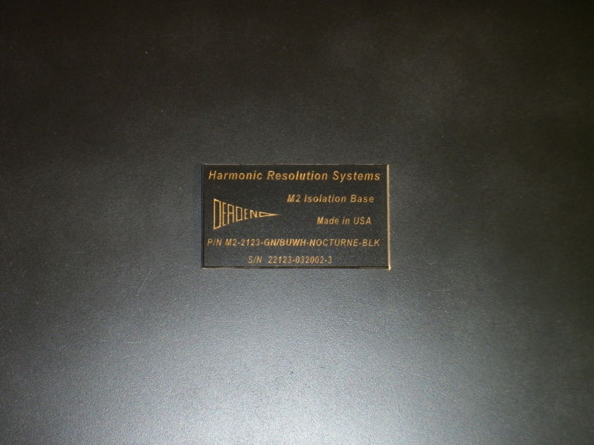 Harmonic Resolution Systems  M2 Isolation Platforms