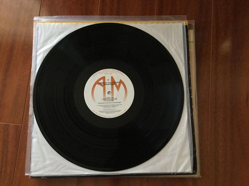 Supertramp crime of the century - Original master recording  MFSL Japanese press