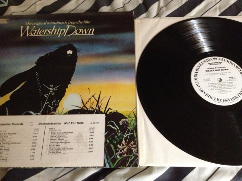 Soundtrack - Watership Down Art Garfunkel White Label Promo LP NM 1A Stampers