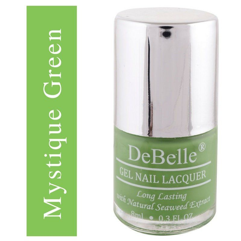 DeBelle green Nail polish