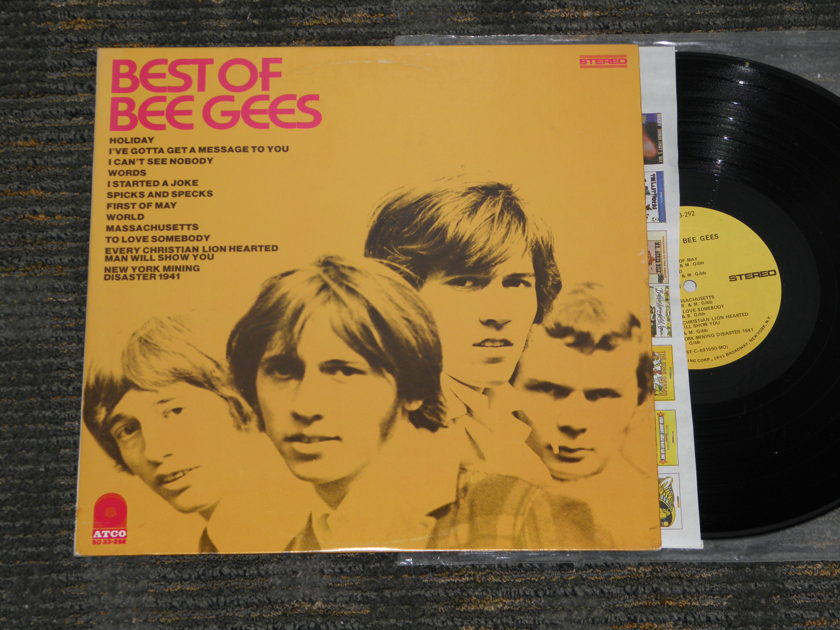 "Bee Gees - ""Best Of Bee Gees"" ATCO Orig W/1841 Broadway labels from 1969 ATCO SD 33-292"