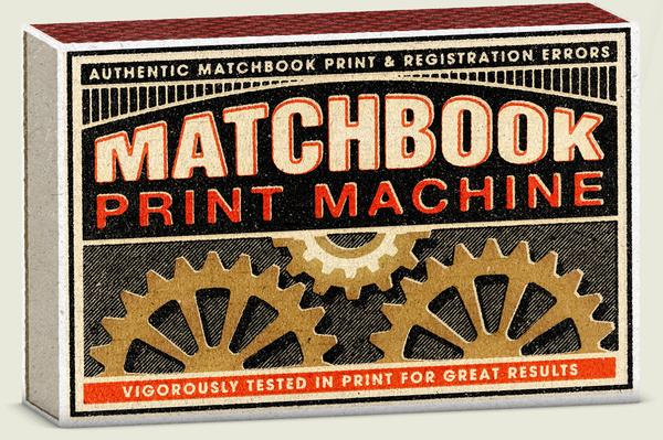 Matchbook Print Machine
