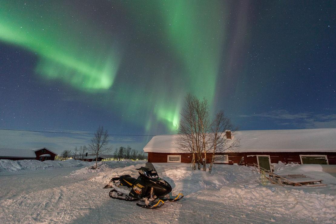 Švédsko polární záře