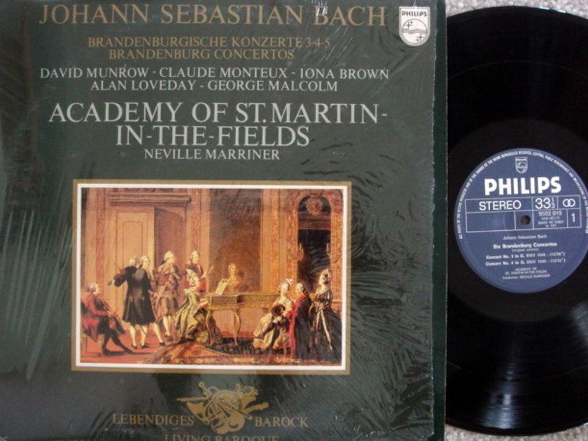 Philips / MARRINER, - Bach Brandenburg Concertos No.3~5, MINT!