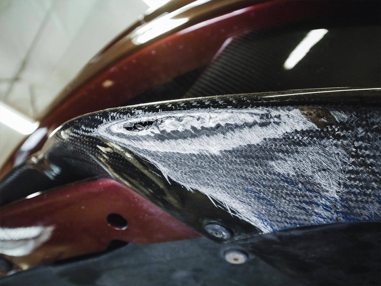 Scrape Armor bumper protection.
