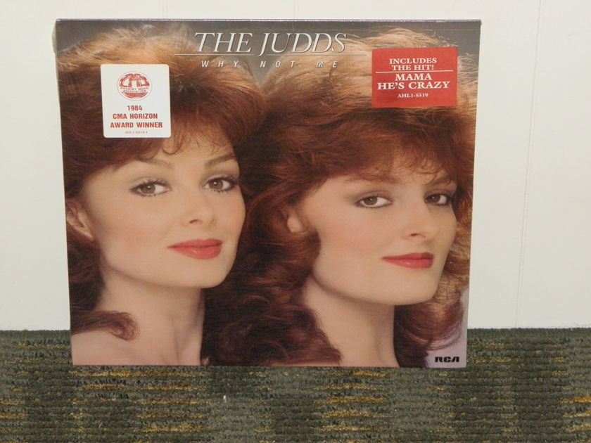 """The Judds - """"Why Not Me""""  STILL SEALED copy RCA AHL7-5319 W/kool stickers"""