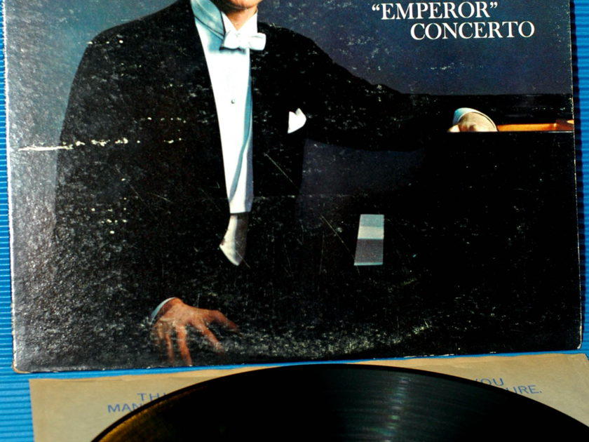 "BEETHOVEN/Reiner/Cliburn -  - ""Piano Concerto 5 (the Emperor)"" -  RCA 'Shaded Dog' 1961"