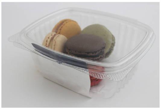 macaron container prior to makeover to custom macaron boxes canada
