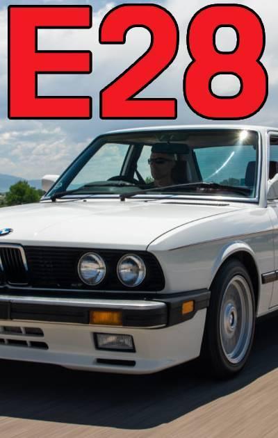 BMW E28 MODEL FITMENT