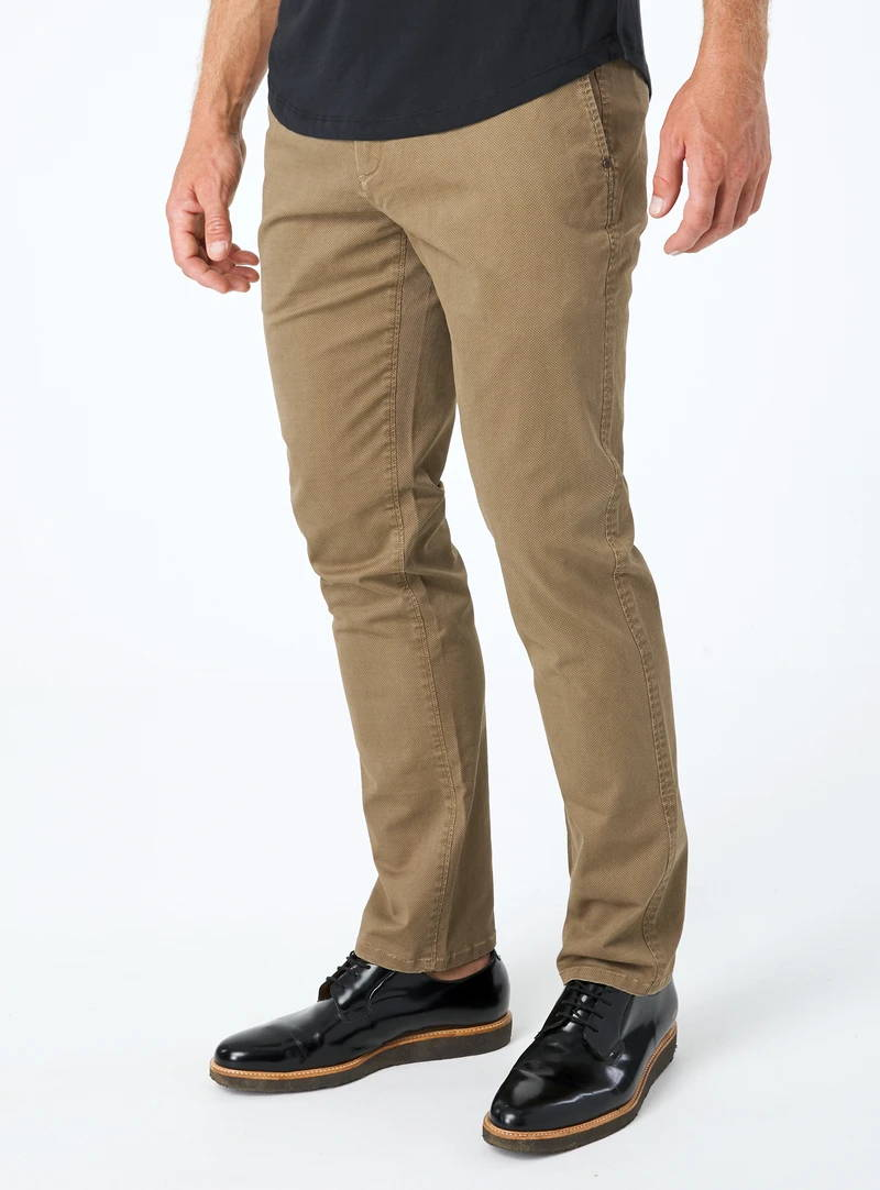Oliver Printed Stretch Chino Pant