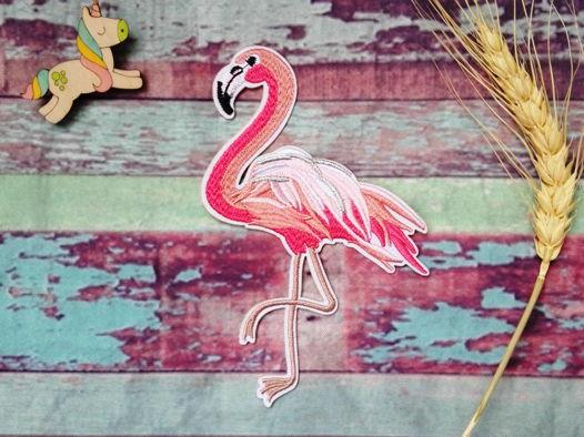 Нашивка (патч) Большой фламинго