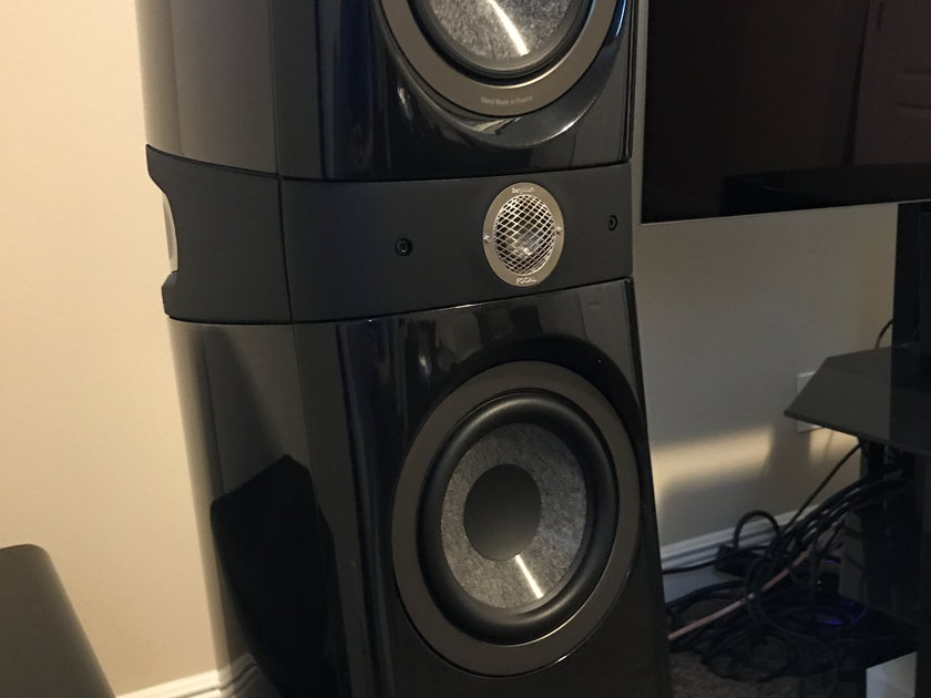 Focal Sopra One Sopra No 2 and Sopra Center channel Gloss black MINT