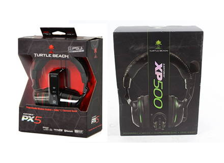 2011-Turtle Beach launches first wireless programmable headsets, the PX5 and XP500