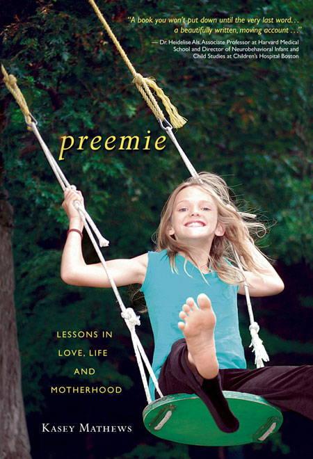 cover image of nicu preemie memoir preemie by kasey mathews